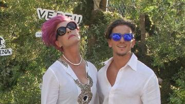 Antonia Dell'Atte y su hijo, Clemente Lequio
