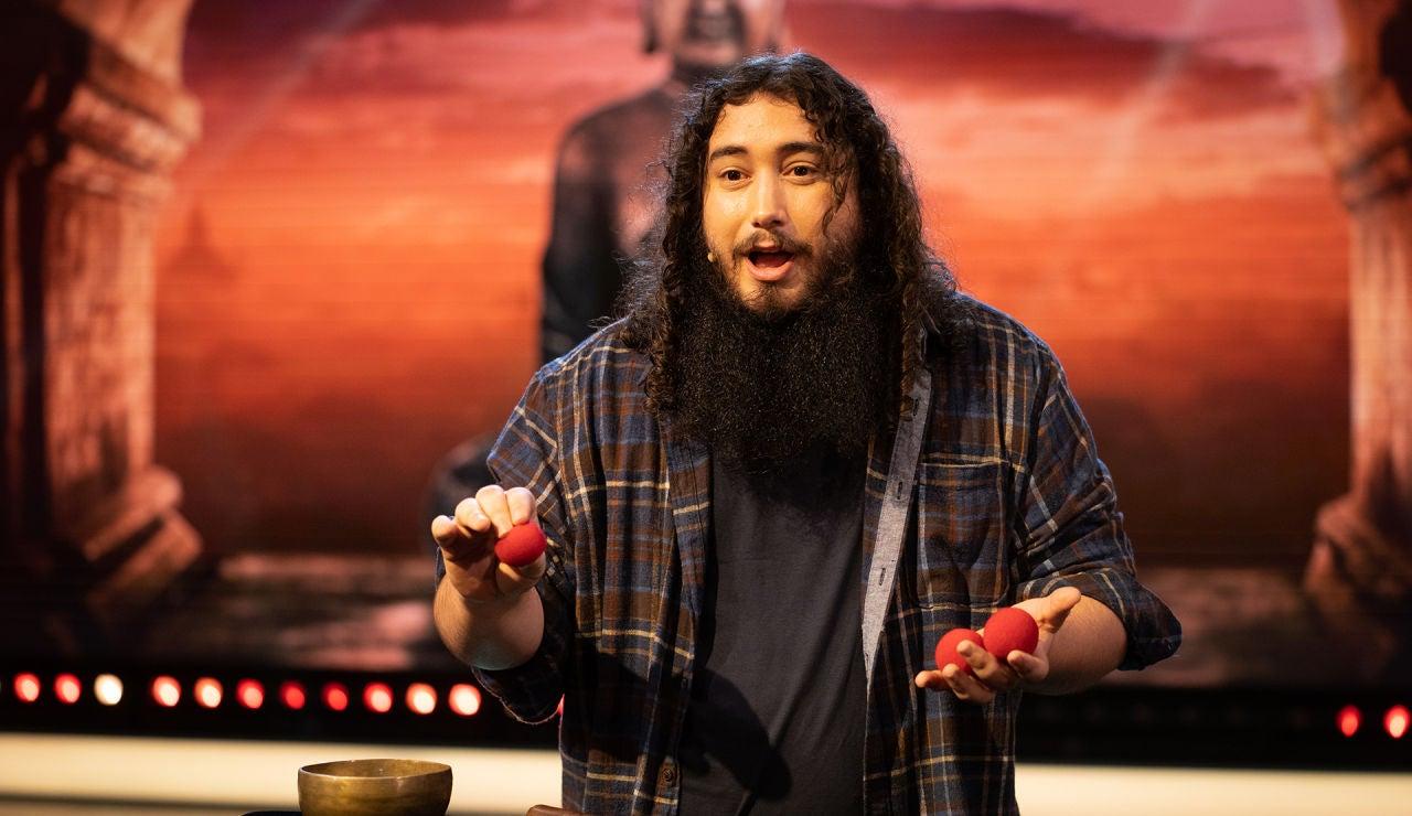 Xulio Merino sorprende en 'El Hormiguero 3.0' con su magia 'tibetana' por primera vez en televisión