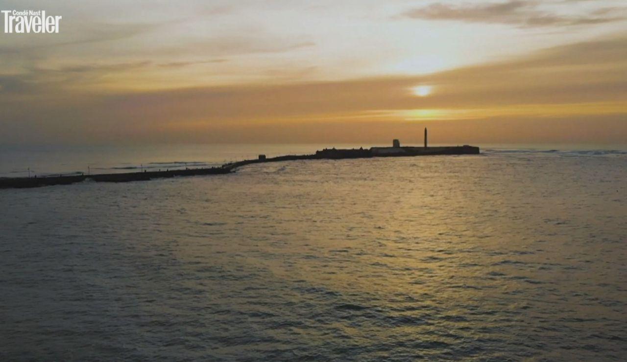 Atardecer en La Caleta, Cádiz