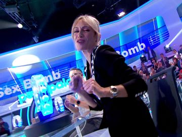 Luján Argüelles demuestra ser toda una 'Sex Bomb' en 'La Pista'