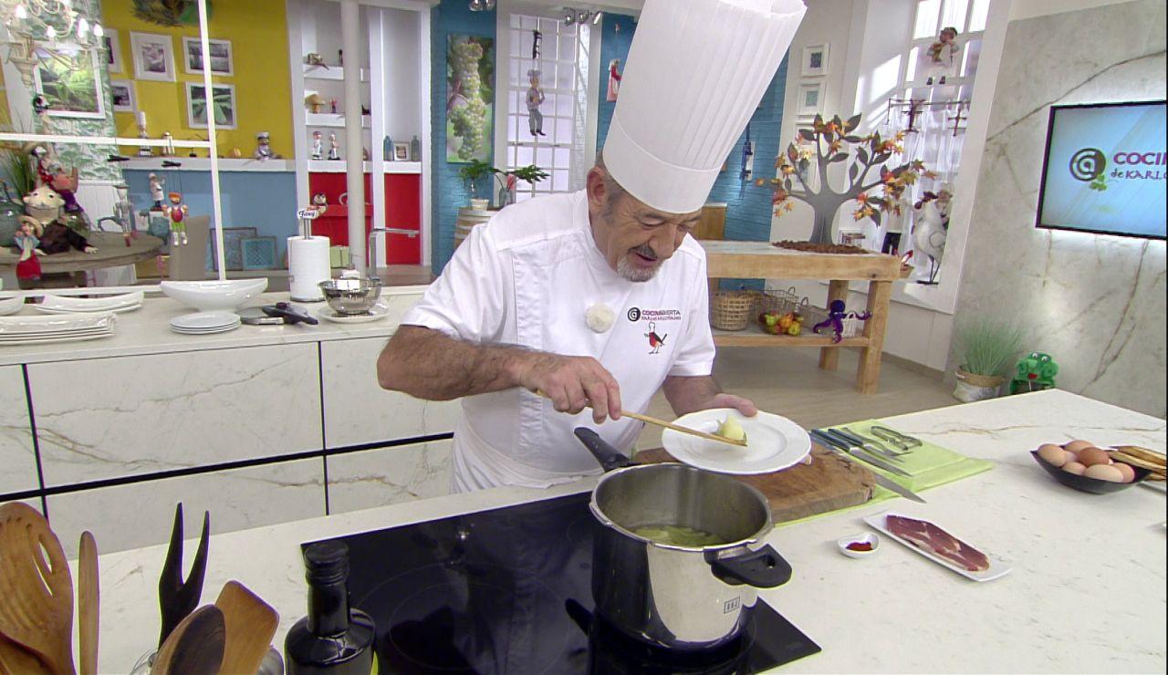 La prueba del éxito de la receta cocinada en 4 minutos: Karlos Arguiñano nos lo muestra
