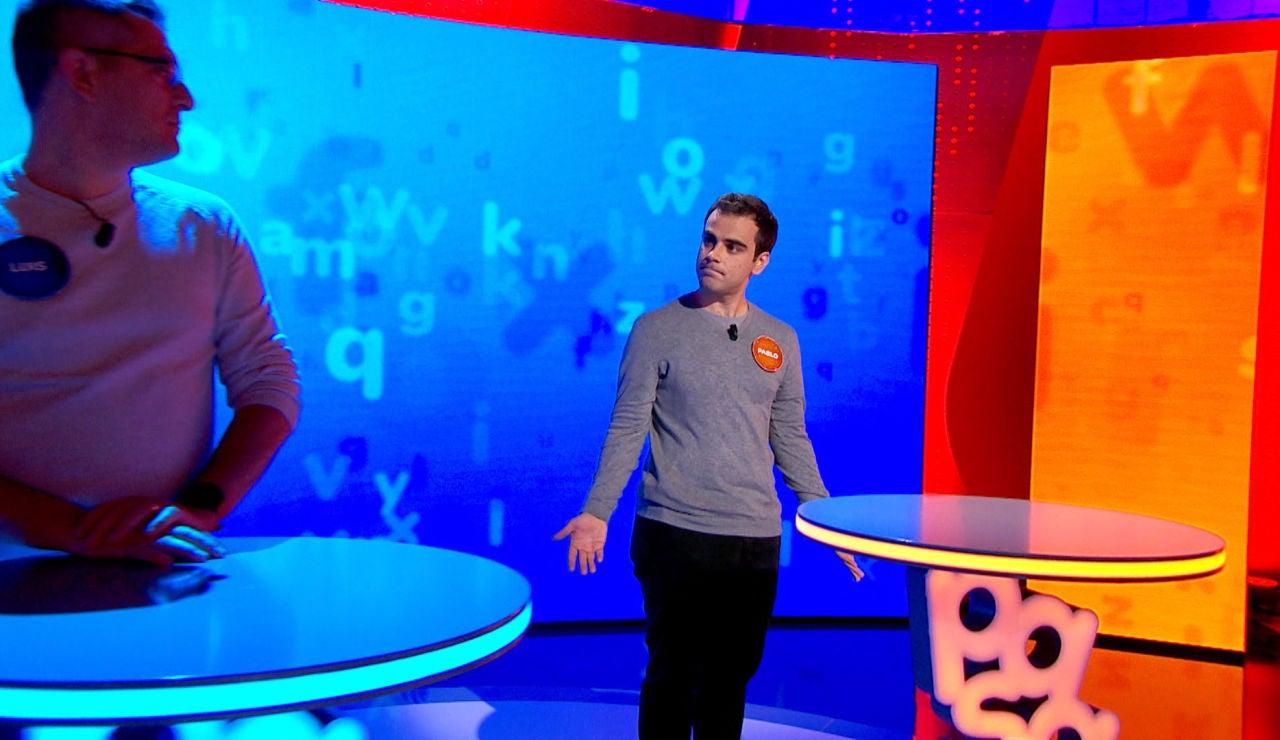 Un error petrifica a Pablo y le condiciona en 'El Rosco': ¿dejará escapar una victoria frente a Luis?