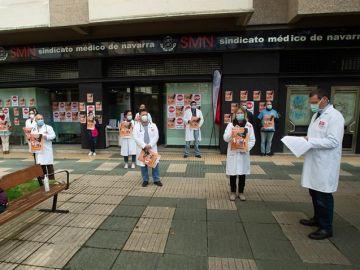 Los médicos comienzan una huelga indefinida durante la segunda ola del coronavirus