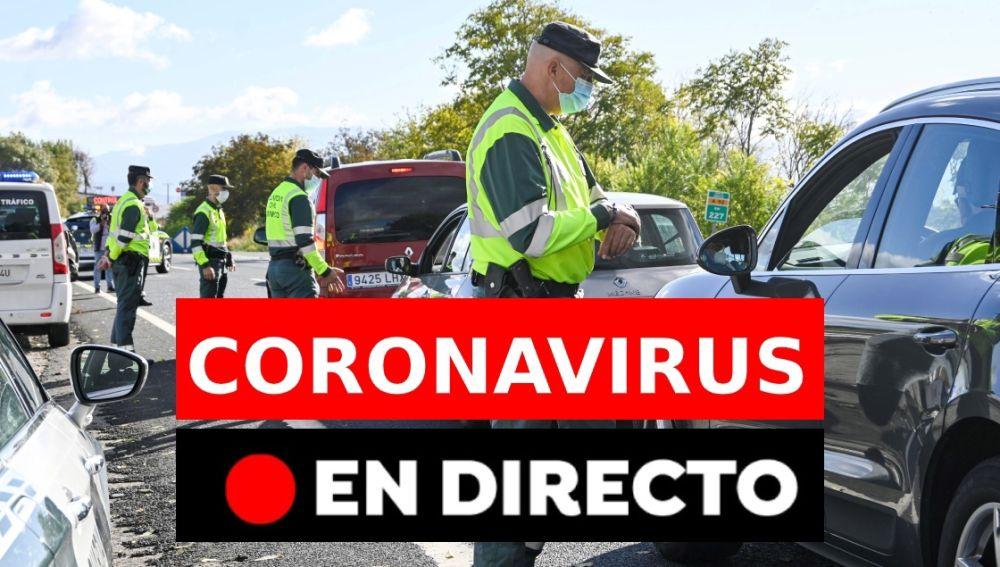 Estado de alarma en España y toque de queda: Última hora del coronavirus, contagios y noticias hoy, en directo