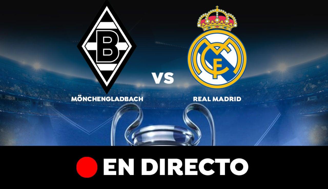Borussia Mönchengladbach - Real Madrid: Resultado y goles del partido de hoy, en directo | Champions League