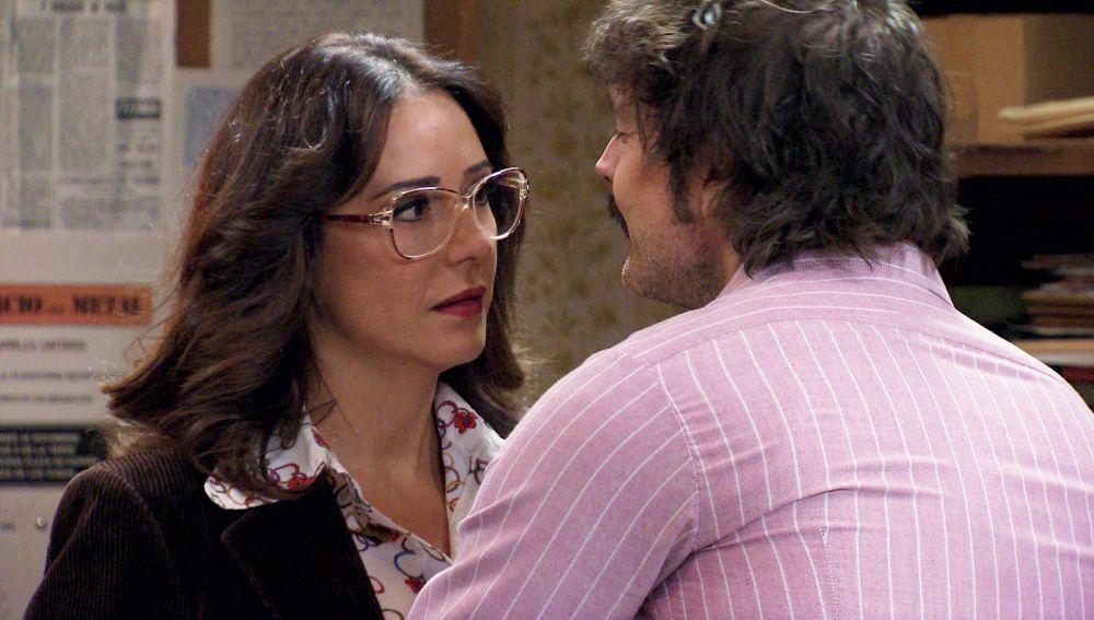Cristina, sobrepasada ante la actitud pervertida de Guillermo