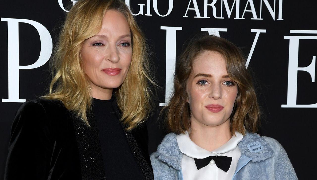 Uma Thurman y su hija Maya Hawke