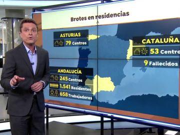 Se cuadruplican en un mes las muertes en las residencias de mayores de Sevilla