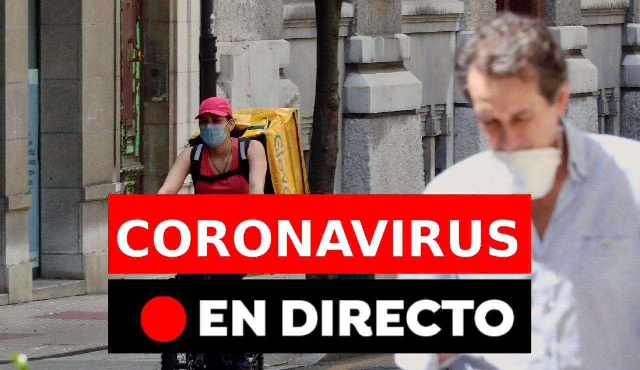 Coronavirus España en directo: toque de queda y estado de alarma hoy