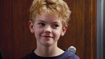 Thomas Brodie-Sangster como Sam en 'Love Actually'
