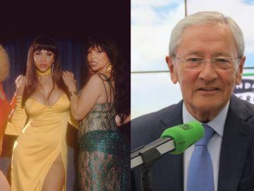 Las protagonistas de 'Veneno' y Fernando Ónega de 'Más de Uno'