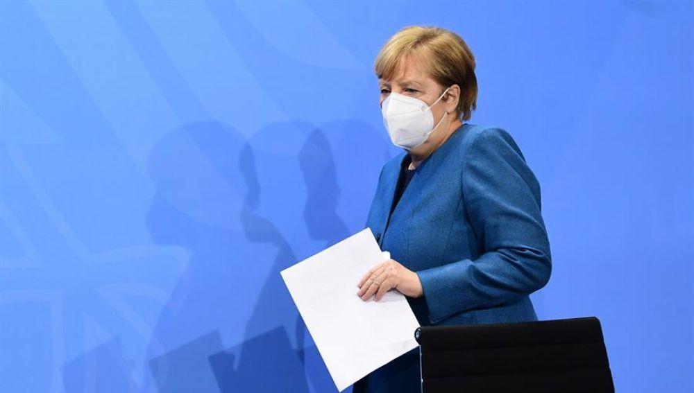 La canciller alemana, Angela Merkel