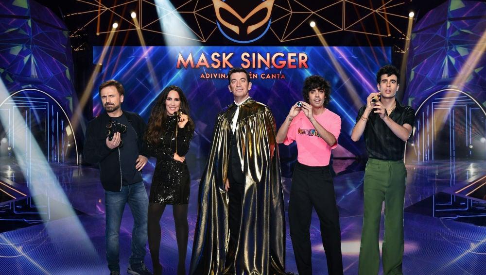 'Mask Singer: adivina quién canta' se estrena el próximo miércoles 4 en Antena 3