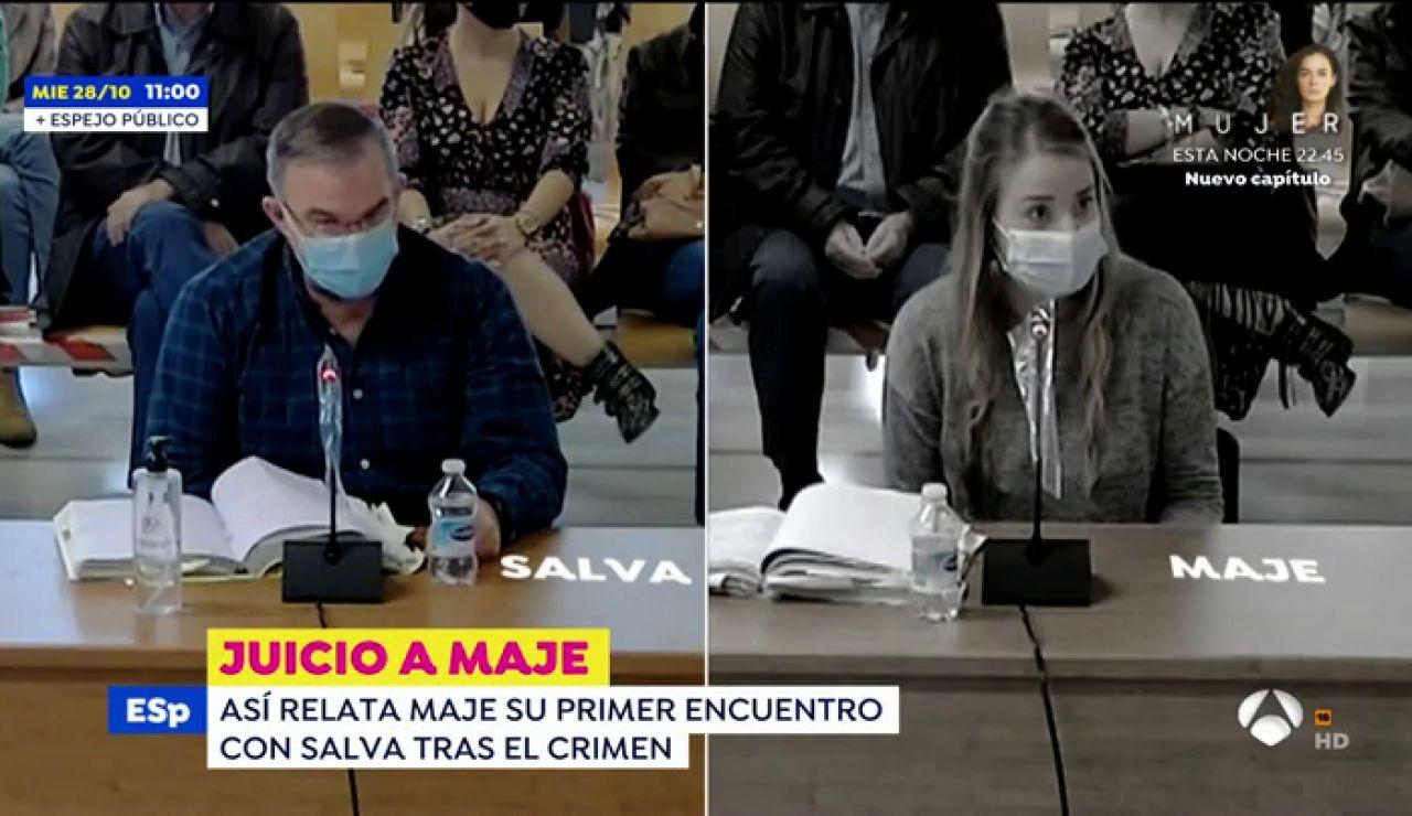 Juicio viuda negra de Patraix | Maje se enfrenta a nuevos audios que la inculpan del crimen de su marido