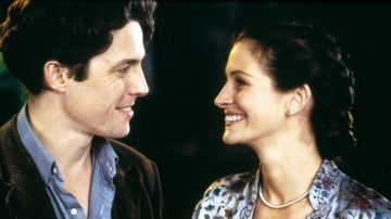 Julia Roberts y Hugh Grant en 'Notting Hill'