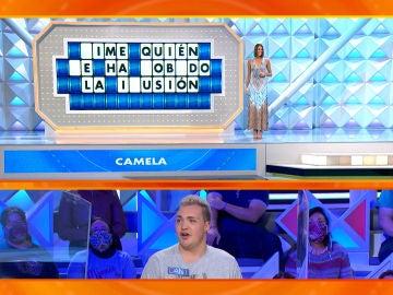 El divertido fallo de un concursante de 'La ruleta de la suerte' con una canción de Camela