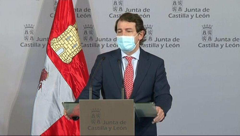 Cierre perimetral de Castilla y León. Confinamiento por coronavirus