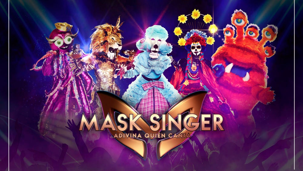 Descárgate los pósters oficiales de 'Mask Singer: adivina quién canta'
