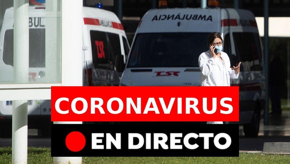 Coronavirus en España: Última hora en directo del estado de alarma y los confinamientos perimetrales