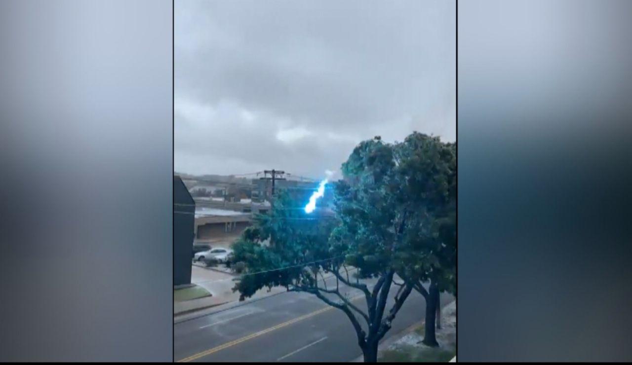 Tormentas eléctricas en Oklahoma