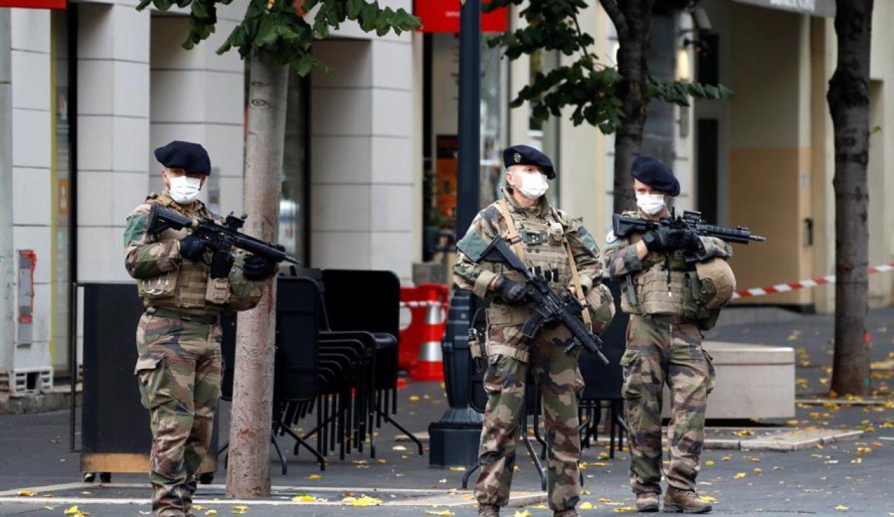 Militares en Francia