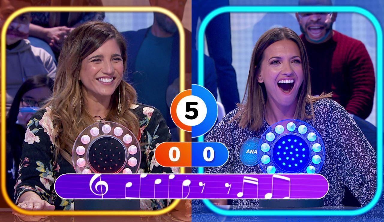 """Ana Ruiz se viene arriba con una canción errónea en 'La Pista': """"¡Ha sido una gran decepción!"""""""