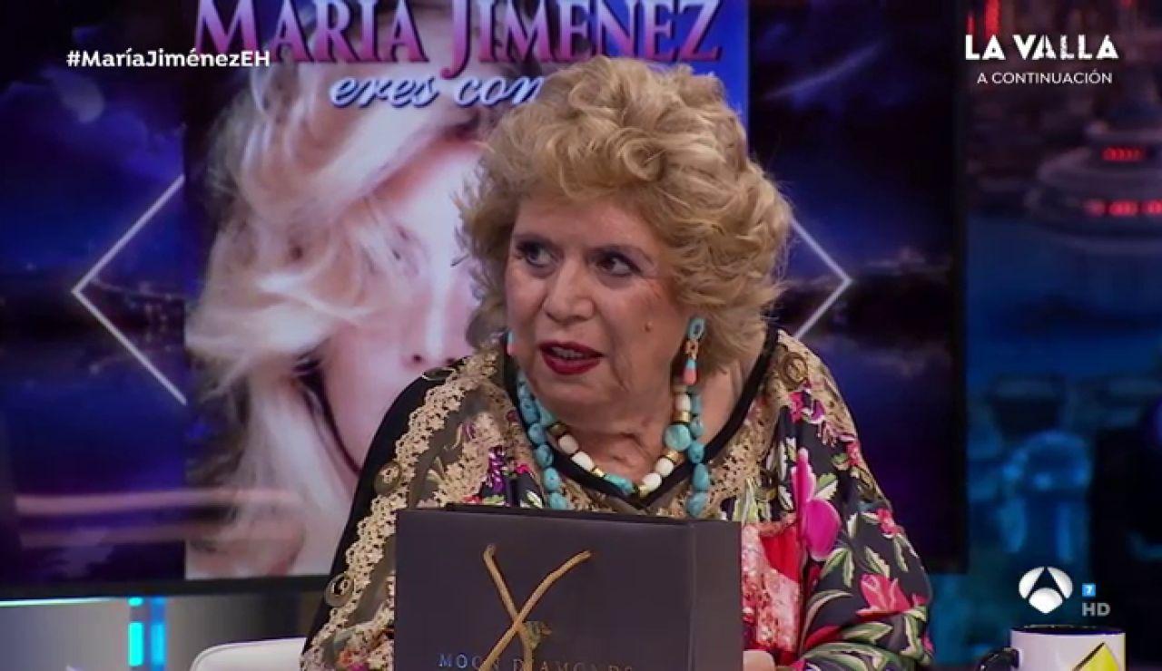 Disfruta de la entrevista completa de María Jiménez en 'El Hormiguero 3.0'