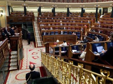 Salvador Illa defiende la prórroga del estado de alarma ante el Pleno del Congreso
