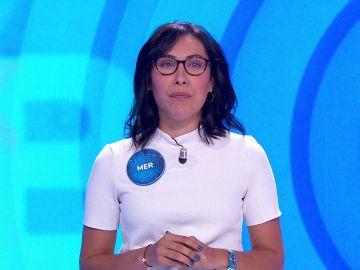 """La original presentación de Mer, la rival de Pablo en la 'Silla Azul': """"Almaceno datos inútiles"""""""