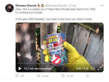Tuit de @dinosaurdracula
