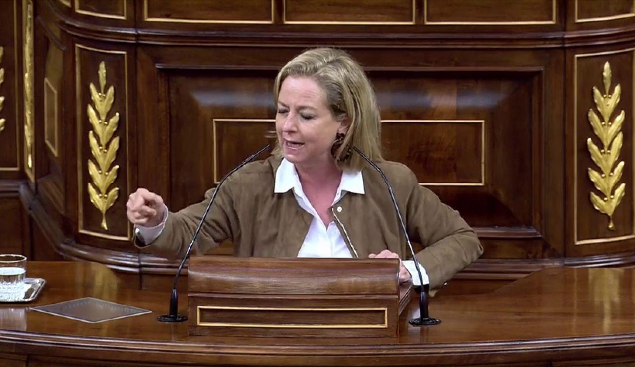 """Ana Oramas al Gobierno en el debate sobre el estado de alarma: """"Cárguense las pilas porque nos vamos a morir"""""""