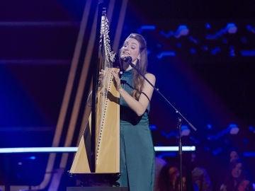 Noemie Delavennat canta 'Quizás, quizás, quizás' en los Asaltos de 'La Voz'