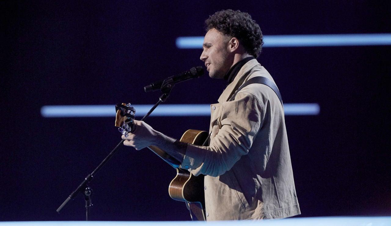 Antonio Soto canta 'Gravity' en los Asaltos de 'La Voz'