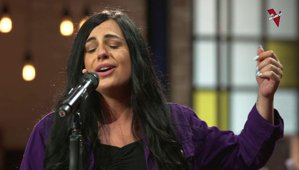 Gema Contreras, pura emoción con 'La quiero a morir' en 'El Regreso'