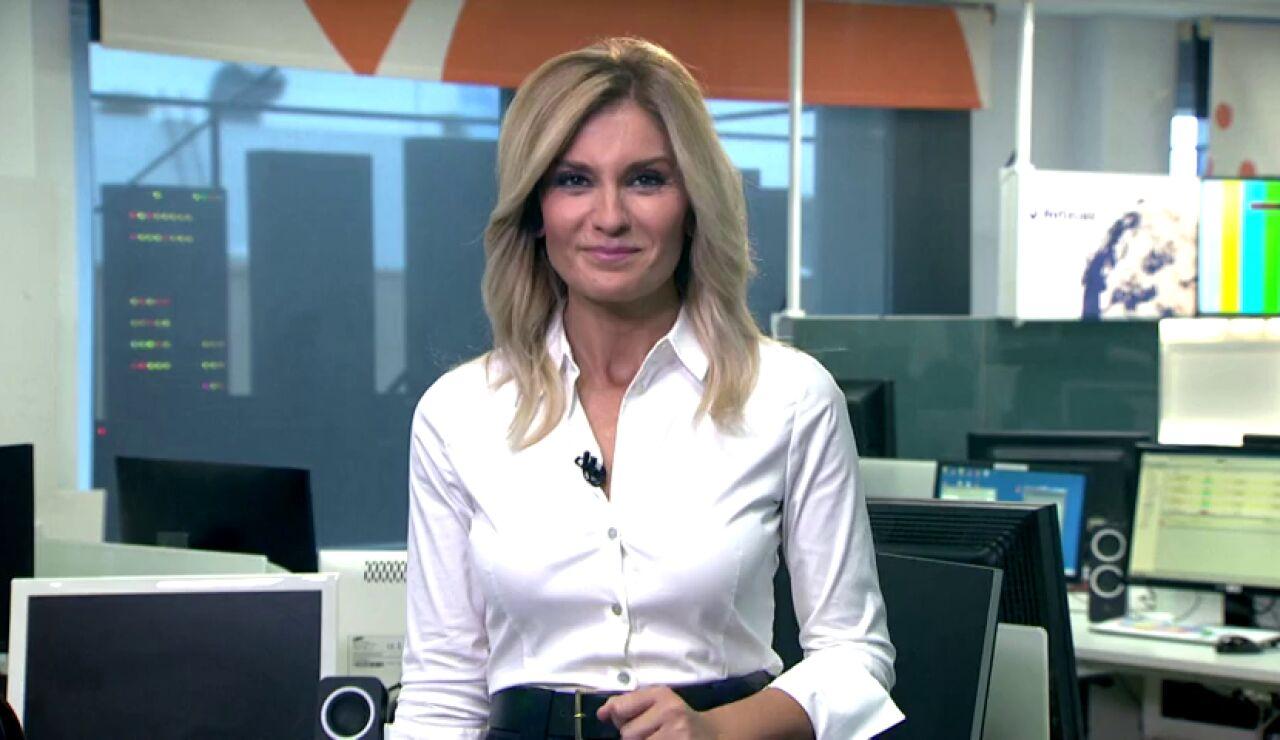 Sandra Golpe te recuerda cómo informarte a través de dispositivos Alexa