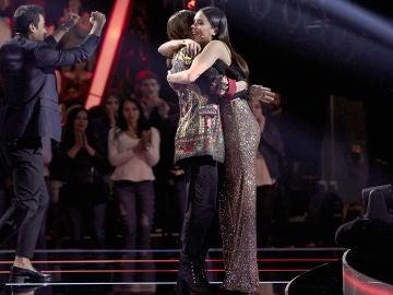 Laura Pausini roba a Pilar Bogado en los Asaltos de 'La Voz' tras ganar el pulso contra Alejandro Sanz