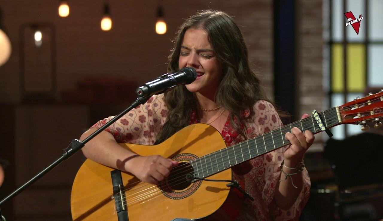 Teresa Palomar llega a 'El Regreso' tras caer en los Asaltos de 'La Voz'.