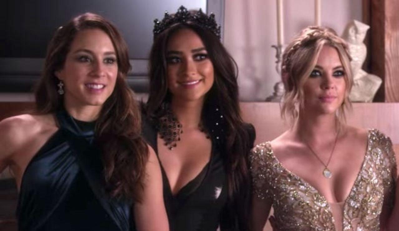 Troian Bellisario, Shay Mitchell y Ashley Benson en 'Pretty Little Liars'