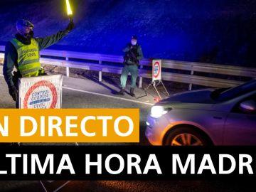 Madrid hoy: Cierre perimetral, zonas confinadas, última horas del coronavirus y noticias, en directo