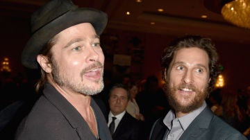 Matthew McConaughey y Brad Pitt
