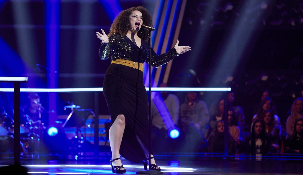 Carolina Gómez canta 'Tell me you love me' en los Asaltos de 'La Voz'