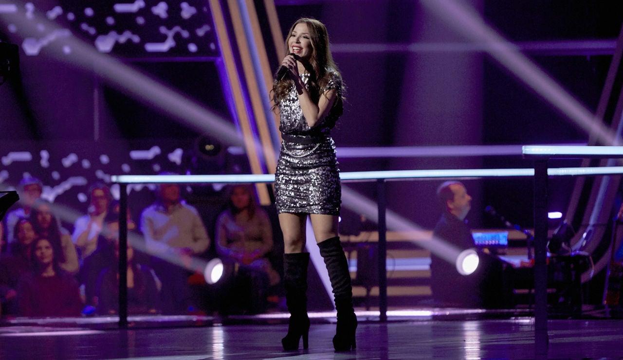 Mireia Ortiz canta 'Who's loving you' en los Asaltos de 'La Voz'