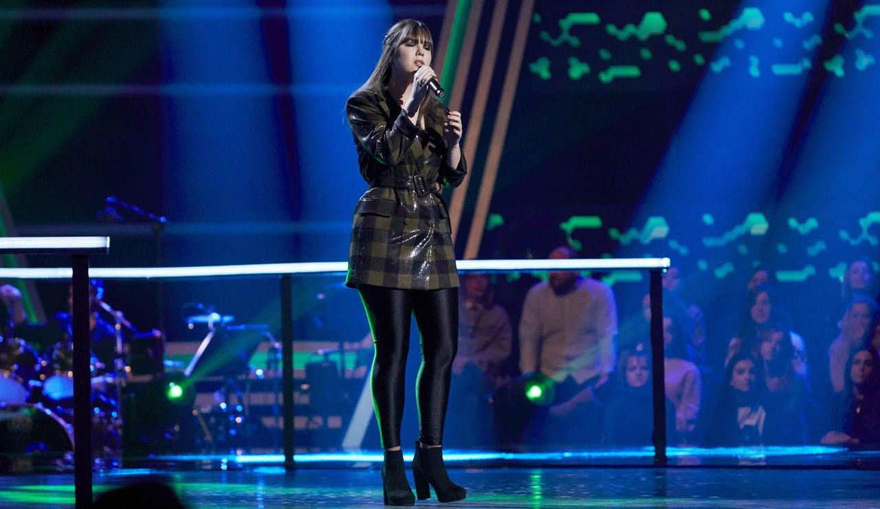 Rocío Hernández canta 'I'll never love again' en los Asaltos de 'La Voz'