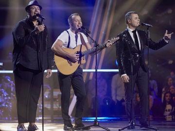Swingstar canta 'Bohemian Rhapsody' en los Asaltos de 'La Voz'
