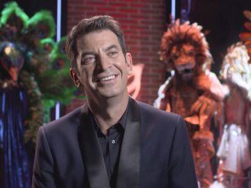 """El principal motivo de Arturo Valls para no perdernos el estreno de 'Mask Singer': """"Es el mayor espectáculo de la televisión mundial"""""""