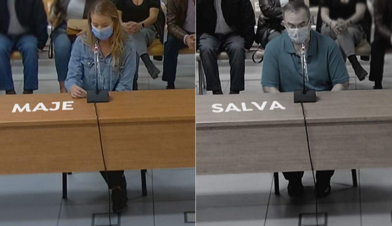 Maje y Salva piden perdón a la familia de Antonio
