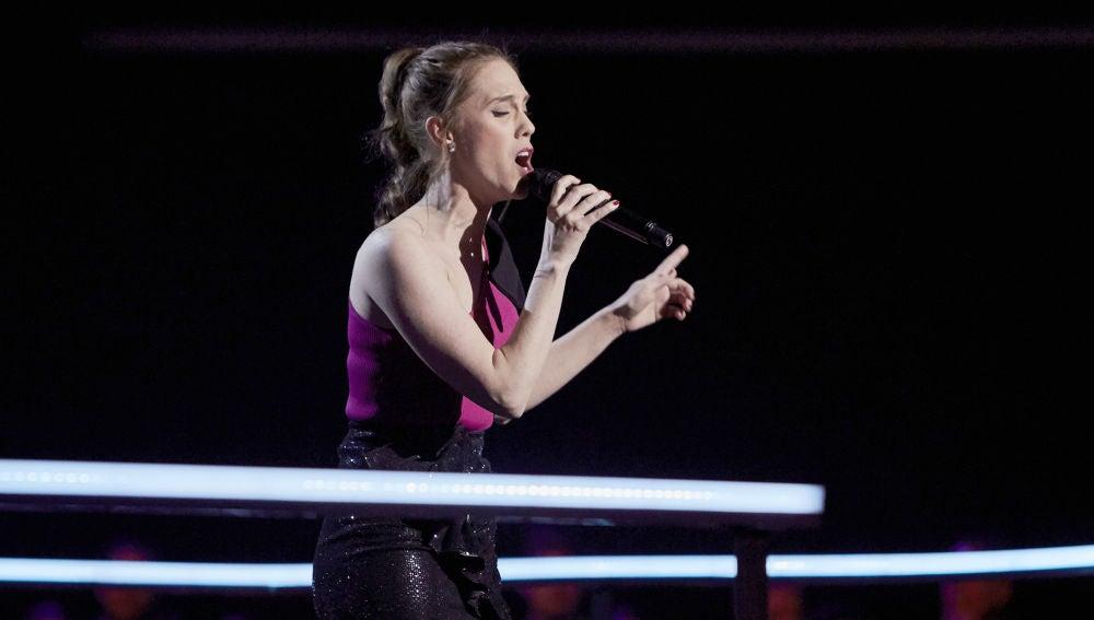 Johanna Polvillo canta 'Vision of love' en los Asaltos de 'La Voz'