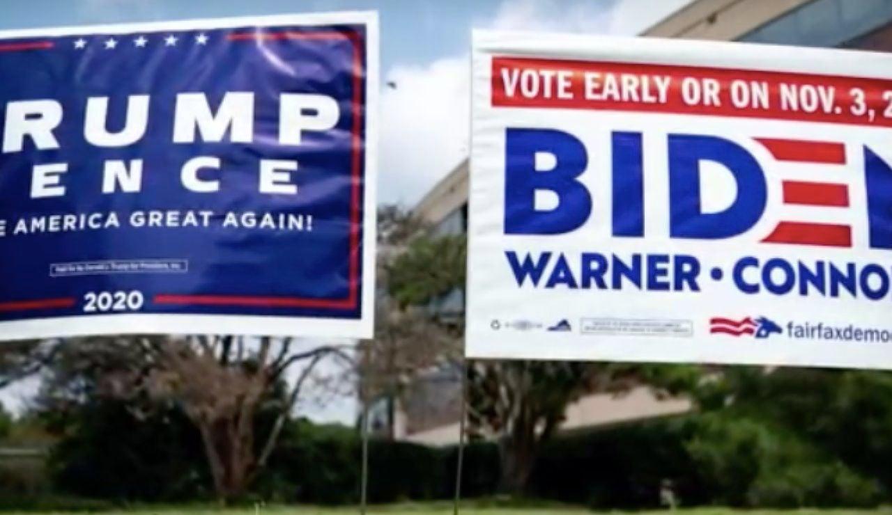 La pandemia de coronavirus marca la campaña en las elecciones de Estados Unidos