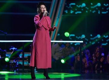 Thania Gil canta 'Recuérdame' en los Asaltos de 'La Voz'
