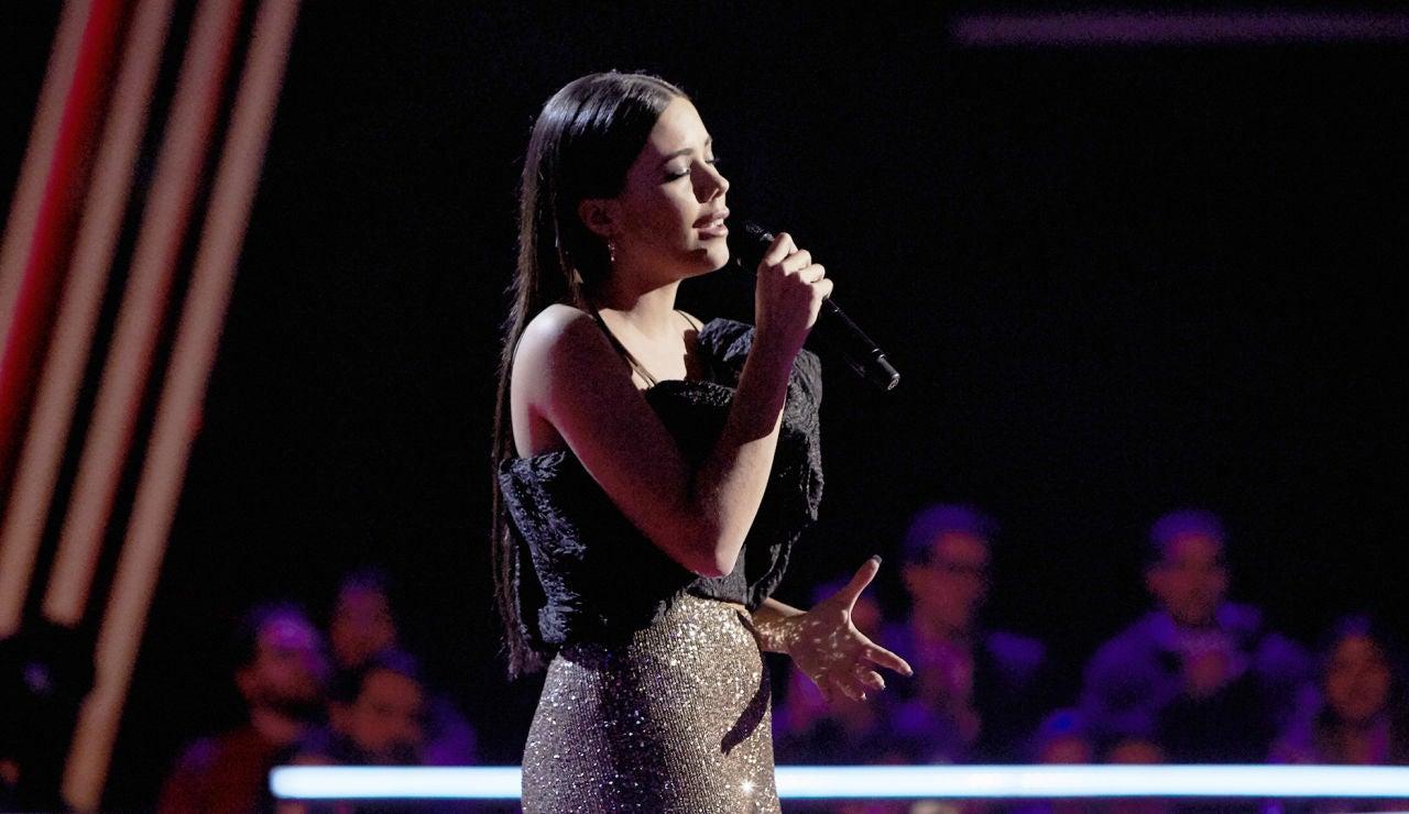 Pilar Bogado canta 'Vencer al amor' en los Asaltos de 'La Voz'